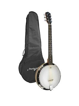 martin-smith-6-string-banjo