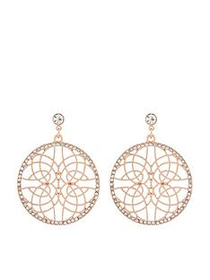 accessorize-diamante-filigree-earrings