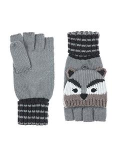 accessorize-racoon-capped-gloves