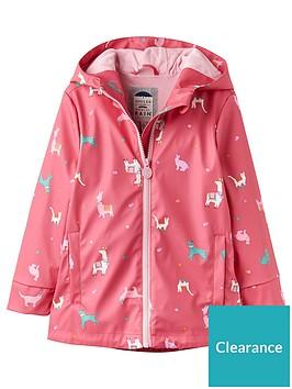 joules-girls-animal-print-raindance-rubber-coat