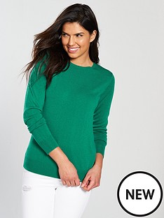 v-by-very-supersoft-crew-neck-jumper-jade-green
