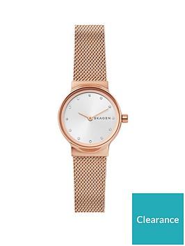 skagen-skagen-feja-rose-gold-stainless-steel-mesh-bracelet-ladies-watch