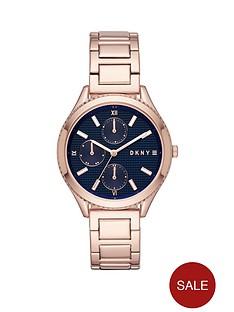 dkny-woodhavennbsprose-gold-tone-stainless-steel-bracelet-ladies-watch