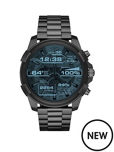 diesel-diesel-on-full-guard-gunmetal-stainless-steel-touchscreen-smartwatch