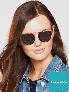 caa0db402a0b6 Tommy Hilfiger Dark Havana Brow Bar Sunglasses
