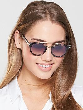 f66343b6b783 Tommy Hilfiger Brow Bar Sunglasses - Pink/Havana   littlewoodsireland.ie