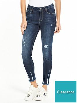 v-by-very-tallia-mid-rise-clawed-hem-skinny-jean-dark-wash