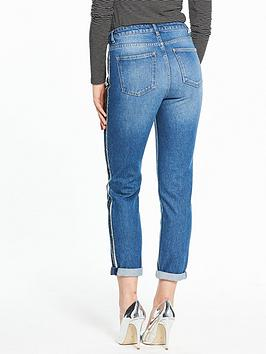 Edge V Seam Side Girlfriend Wash Mid  Very Raw by Jean Wide Range Of Cheap Online Best Wholesale Cheap Price 8YZEr6m