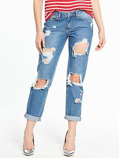 v-by-very-emerie-extreme-ripped-boyfriend-jean-vintage-wash