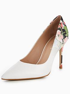 carvela-alison-floral-court-shoe-white
