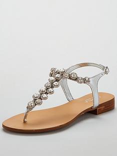 carvela-bebe-2-bling-t-bar-sandal-silver