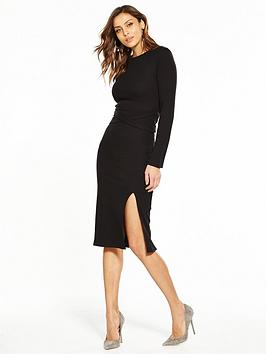 Buy Cheap Lowest Price Dress Waist Tie by Midi Rib V Very Official Sale Online Discount New Arrival Cheap Excellent Buy Online With Paypal GOTLtvRpC