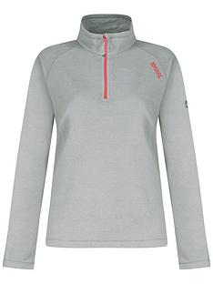 regatta-montes-half-zip-fleece-top