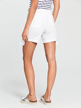 White Short V by Very  Poplin nbsp Free Shipping Footaction Footlocker Finishline For Sale Pay With Visa Cheap Price Discount Extremely Best Place Online MqOES