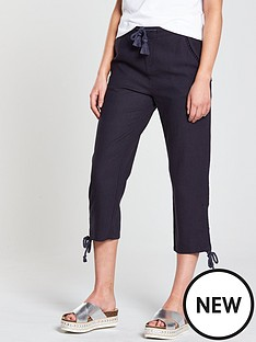 v-by-very-linen-crop-trouser-navy