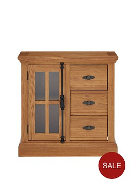 ideal-home-whitfordnbspsolid-wood-ready-assembled-compact-sideboard