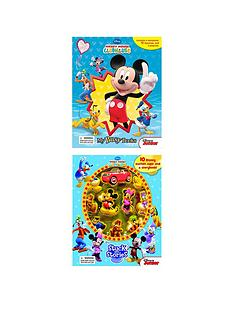 disney-disney-mickey-clubhouse-2-book-bundle-my-busy-book-amp-stuck-on-stories
