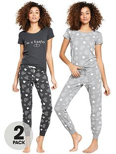 v-by-very-2-pack-heart-print-ss-pj