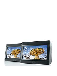 nextbase-9-inch-twin-portable-in-car-dvd-players-with-nextbase-ir-headphones