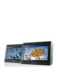 nextbase-9-inch-dual-in-car-dvd-players-with-nextbase-ir-headphones
