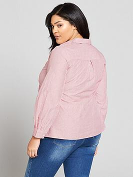 Outlet Locations For Sale Buy Cheap Footlocker Stripe  Shirt Knot V Curve by Very Front aMzU3f3E