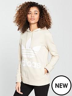 adidas-originals-adicolor-trefoil-hoodienbsp--linen