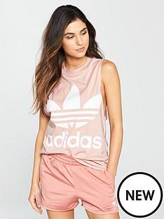 adidas-originals-adicolor-trefoil-tank-pink