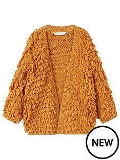 mango-girls-metallic-knitted-cardigan