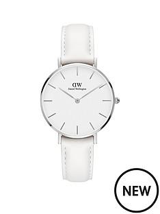 daniel-wellington-daniel-wellington-classic-petite-bondi-silver-white-face-32mm-case-white-leather-strap-ladies-watch