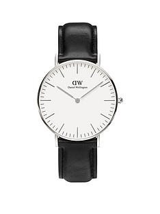 daniel-wellington-daniel-wellington-sheffield-silver-36mm-case-black-leather-strap-unisex-watch