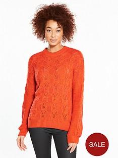 v-by-very-pointelle-blouson-sleeve-jumper
