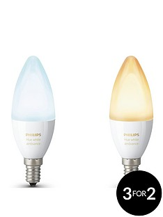 philips-hue-white-ambiance-e14-double-pack