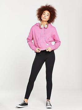 nbsp  Pullover Converse Essentials Hoodie Pink nbsp Cropped Enjoy Cheap Online 2vPtsB26E