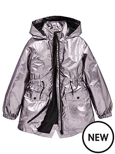 v-by-very-girls-metallic-raincoat