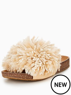 ugg-cindynbspfringed-slider-cream