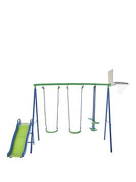sportspower-multi-play-swings-glider-slide-and-basketball-net
