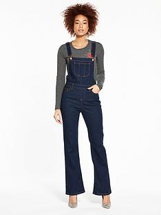 v-by-very-denim-flare-dungaree