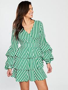 v-by-very-stripe-tiered-shirt-dress