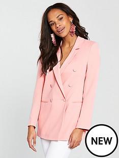 river-island-river-island-blazer--pink