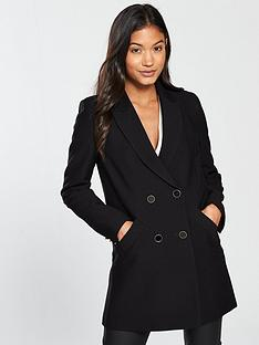 river-island-river-island-double-breasted-blazer--black