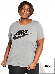 nike-essential-logo-t-shirt-plus-size-greynbsp