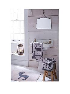 catherine-lansfield-100-cotton-stag-jacquard-bath-mat-ndash-grey