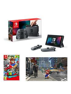nintendo-switch-grey-console-with-super-mario-odyssey
