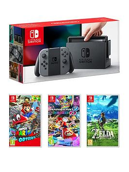 nintendo-switch-console-with-super-mario-odyssey-mario-kart-8-and-legend-of-zelda
