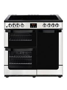 new-world-nw-vision-90e-electric-90cm-range-cooker-stainless-steel