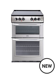 belling-bel-enfield-e552-55cm-electric-ceramic-double-oven-silver