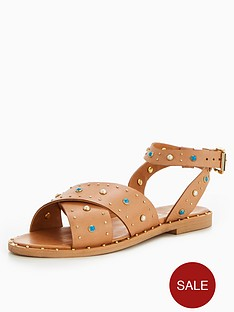v-by-very-kate-studded-leather-sandal