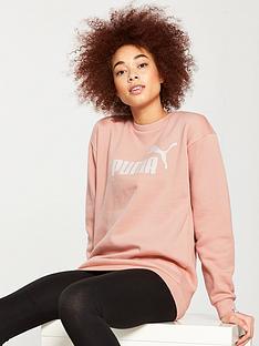 puma-essentials-no1-crew-sweater-peach