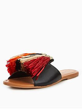 Buy Cheap Supply And Leather Indiana V Raffia Very by Slider Tassel New Arrival Fashion Get To Buy For Sale Clearance Shop For View Sale Online jfzgaVomcX