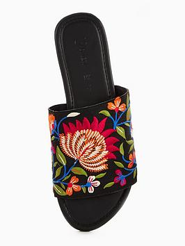Affordable Sale Online Sienna Floral Embroidered V Slider Very by Wholesale Price Cheap Price Free Shipping For Nice Hard Wearing Buy Cheap Discounts UvLs5Lk3a